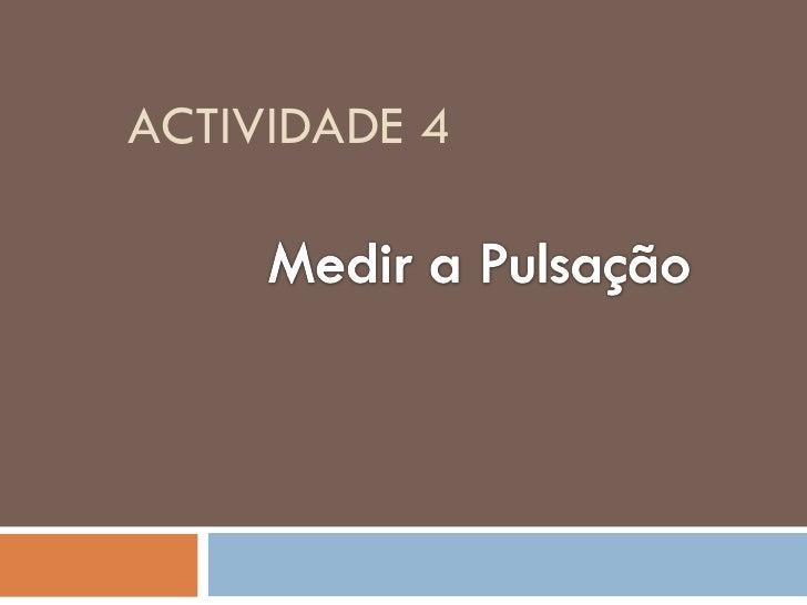 ACTIVIDADE 4