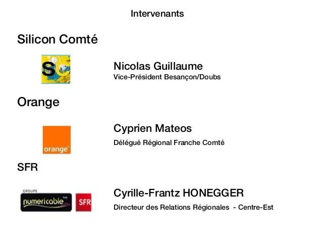 La fibre optique (FTTH) à Besançon, point sur le déploiement / Digital apéro [19/05/2015] Slide 2