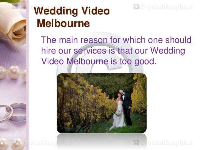 Melbourne Wedding Video Slide 2