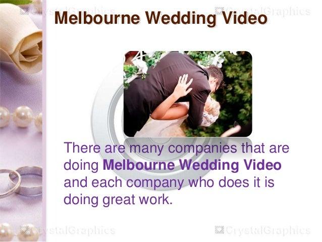 Melbourne Wedding Video Slide 3