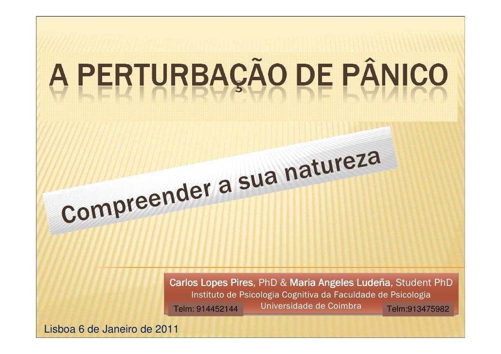natu reza                           d er a sua    C ompreen                           Carlos Lopes Pires PhD & Maria Angel...