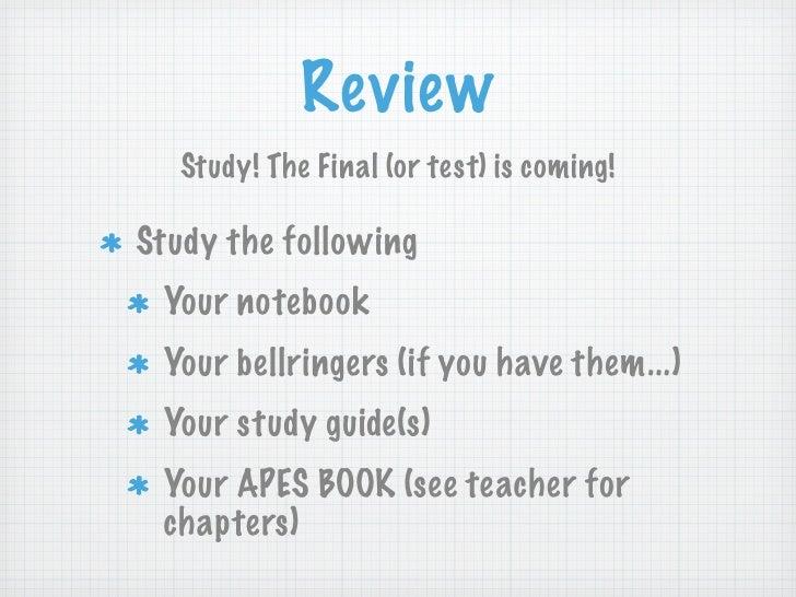 APES MATH TIPS for the AP Exam - Kwanga.net