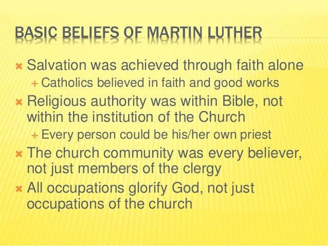 AP Euro CH 14 Martin Luther