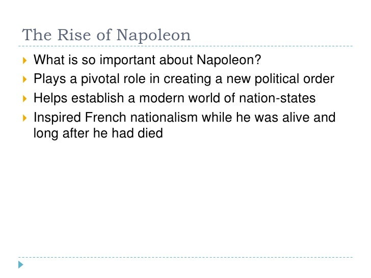 the role of the french revolution in establishing nationalism 4 2 0-2-4 the creation of the national assembly the storming of the bastille french revolution and development of nationalism timeline by: dani downey.