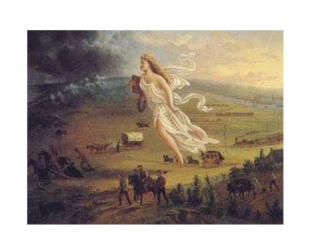 "Manifest Destiny • ""Away, away with all these cobweb tissues of the rights of discovery, exploration, settlement…(The Amer..."