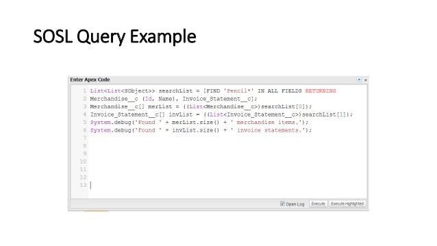 Apex code (Salesforce)