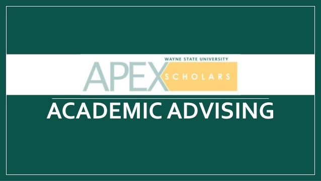 APEX ACADEMIC ADVISING