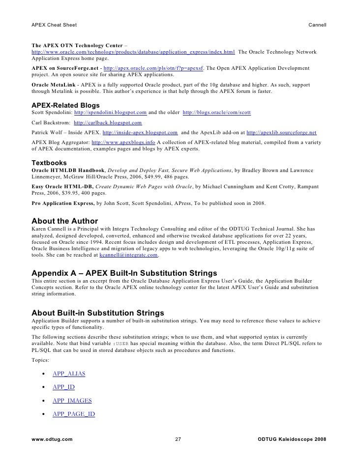 Expert Oracle Application Express Security Pdf