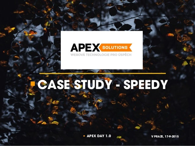 apex case study Faculty & research  case studies  apex pc solutions, inc  the leader of apex , its predecessor company, apex computer company, and the client-server.