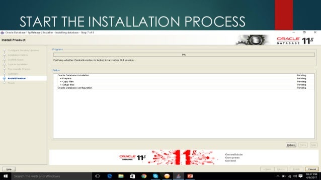 Installing Oracle 11g and Oracle Apex 5 1 ( Easy Way To install)