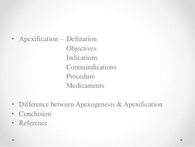 Apexogenesis & apexification in pediatric dentistry Slide 3