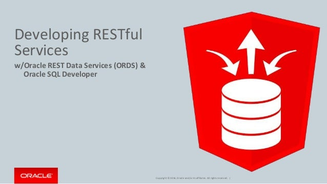 REST Enabling Your Oracle Database