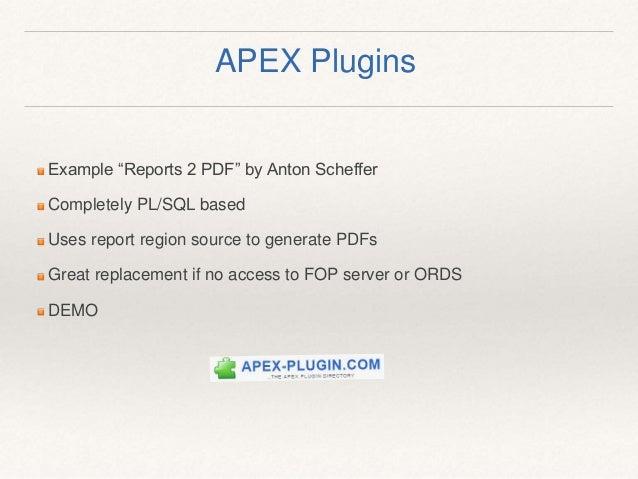 Apex Report Pdf