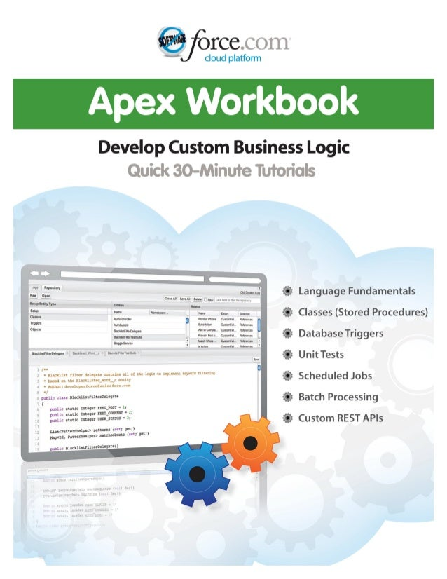 Table of Contents Apex Workbook..............................................................................................