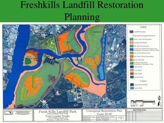 Freshkills Landfill Restoration Planning