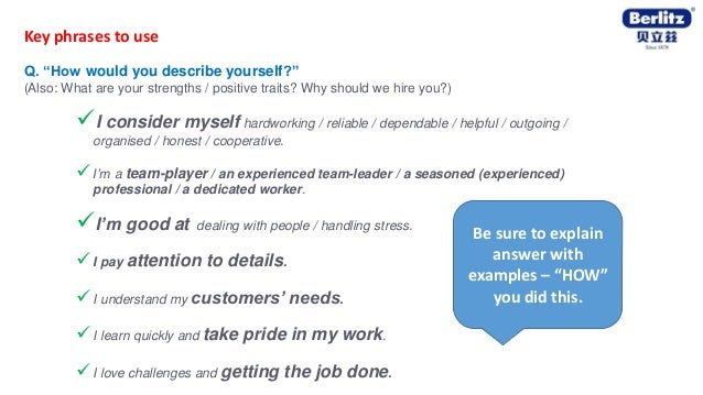 English Tips For Job Interview Berlitz Australia