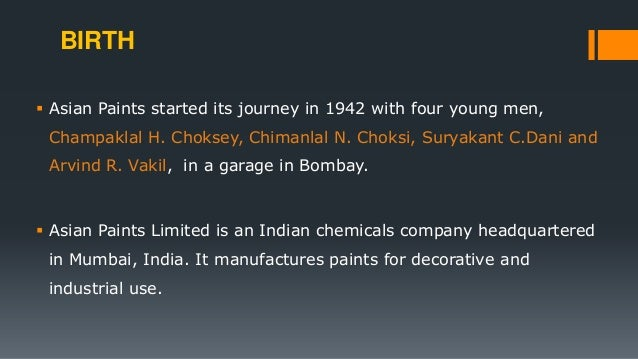 berger paints case study Berger paints interview questions  the process took 1 day i interviewed at berger paints interview case study competition usually gtms are asked for.