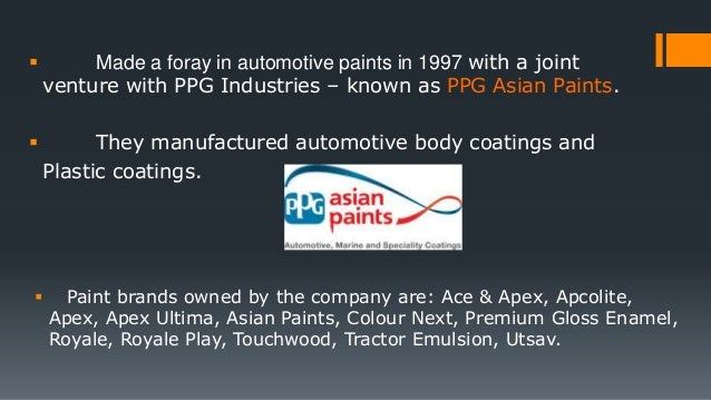 case 15 asian paints An analysis of asian paints and their strategic decisions print reference this published: 23rd march 1,12315 net current assets 8975 16606 1794 13744 in case of asian paints the average tax are more or less equal to the corporate income tax of 3399.