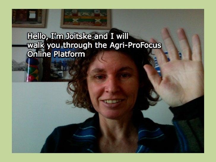 Apf Online Platform Walk Through