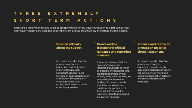 These are 3 recommendations to be adopted immediately by advertising agencies and companies: They have virtually zero cost...