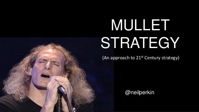 MULLET STRATEGY @neilperkin (An approach to 21st Century strategy)