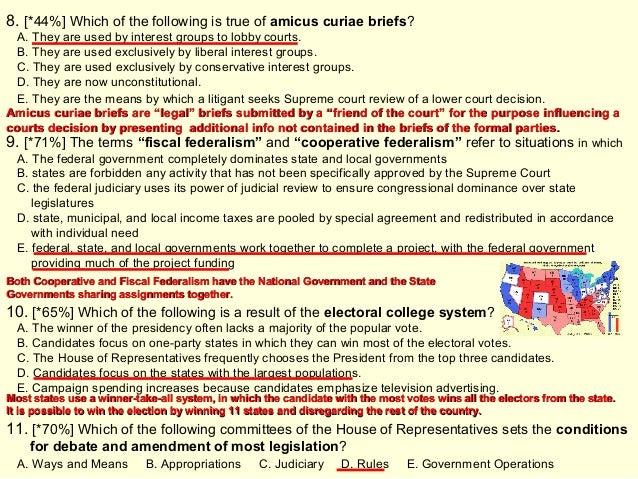 """ap government federalism cases Foundations of us government: the constitution and federalism 2 009, #1- constitution and """"democracy""""- limits on majority rule and eventual expansion."""