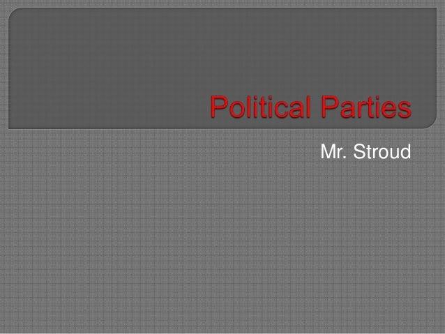 Mr. Stroud