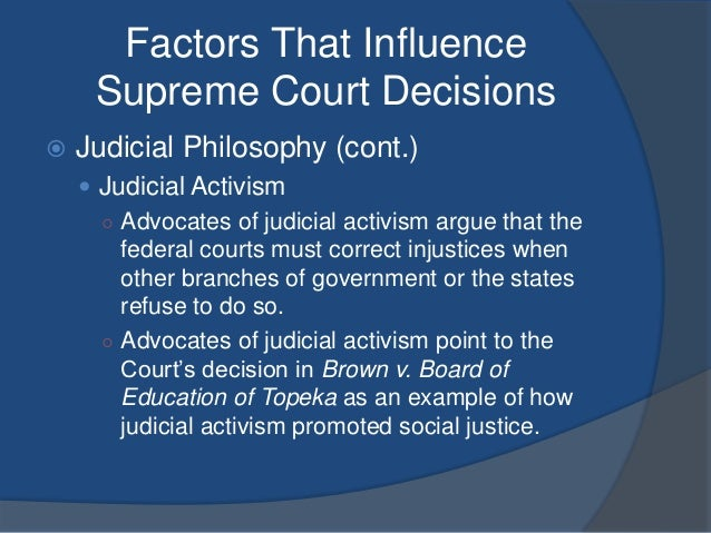 judicial activism vs judicial restraint in the united states The relevance of the judicial activism vs judicial restraint discourse in the united states, in israel, and in many other countries - is between.