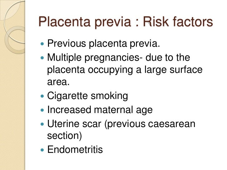 Placenta Previa Nursing Care Plan and Management