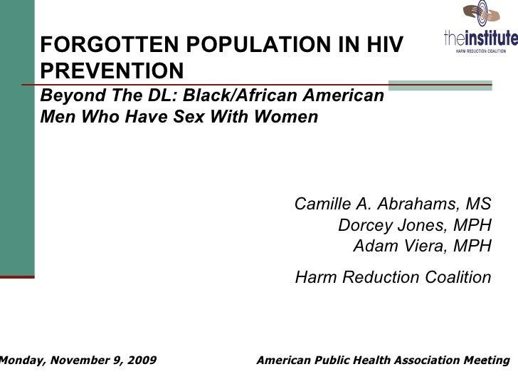Heterosexual men hiv