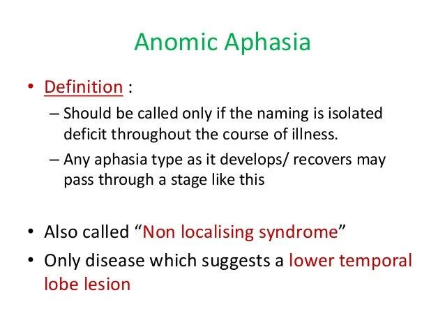 aphasia in brief - dr. kasyapa, Skeleton