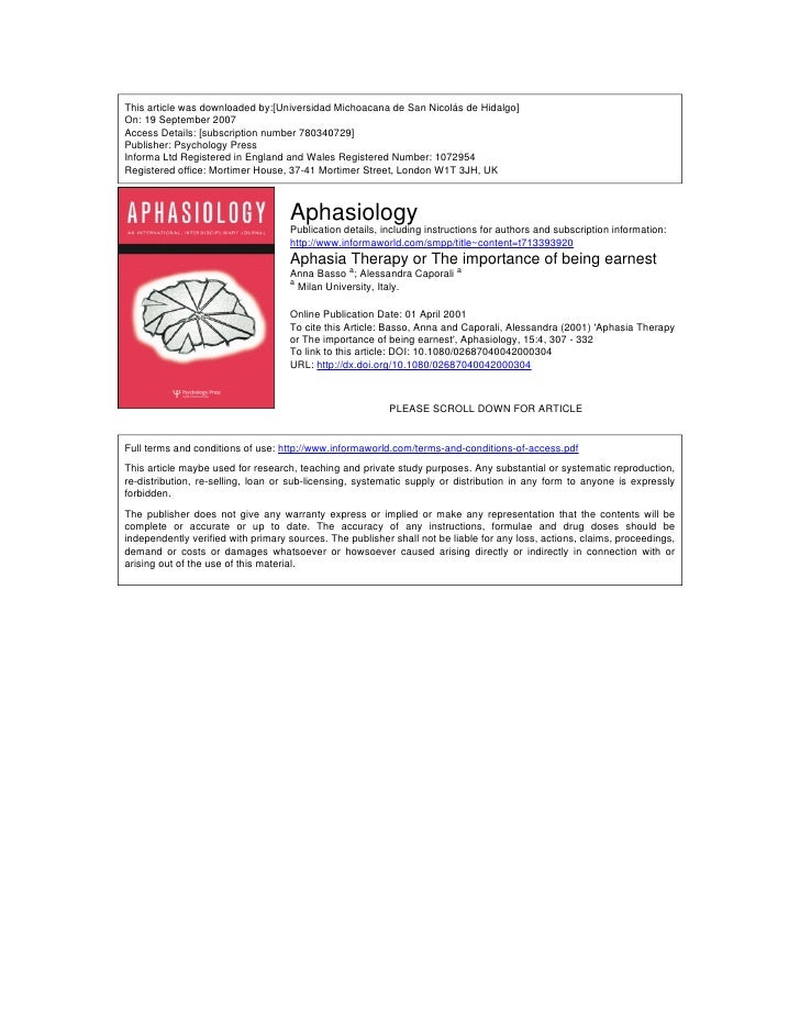 This article was downloaded by:[Universidad Michoacana de San Nicolás de Hidalgo] On: 19 September 2007 Access Details: [s...