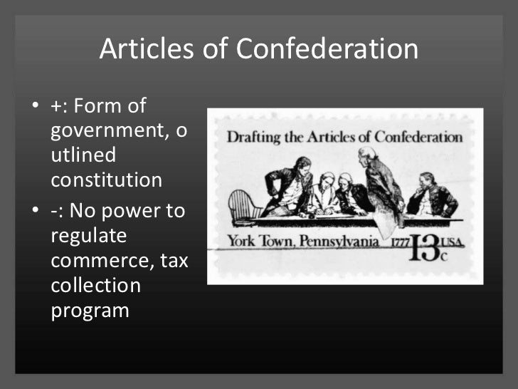 articles of confederation and regulate interstate trade The three primary problems with the articles of confederation was the difficulty of raising revenue, inability to regulate interstate and international trade, and the absence of a mechanism for enforcing compliance with the laws established the philadelphia convention of 1787 was called to address the deficiencies in the original agreement.