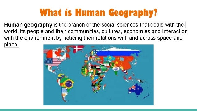 Ap human geography course description