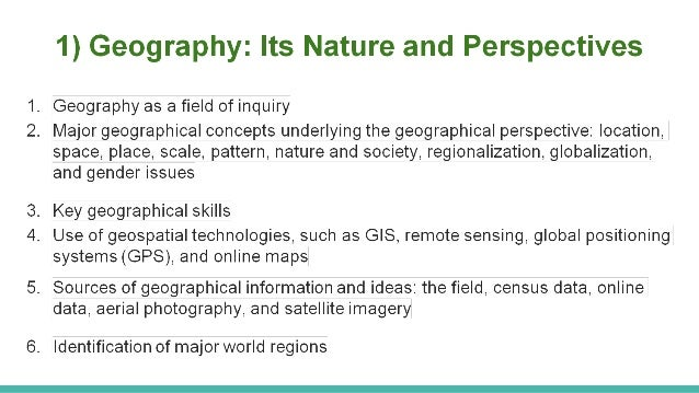 Human Place In Nature Syllabus