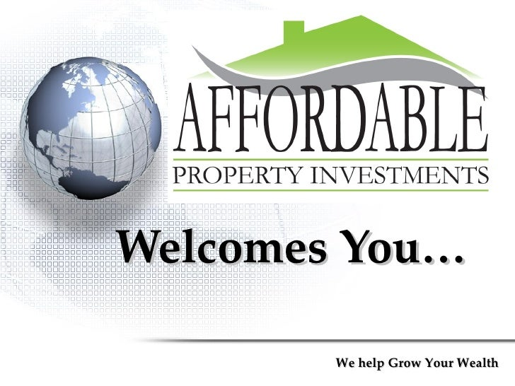 Welcomes You… We help Grow Your Wealth