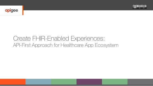 Create FHIR-Enabled Experiences: API-First Approach for Healthcare App Ecosystem