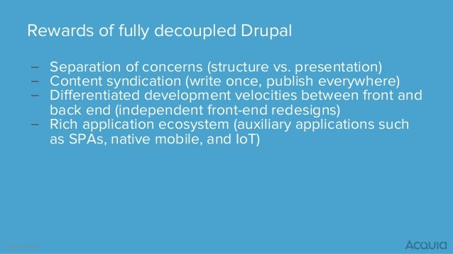 API-First Drupal and the Future of the CMS