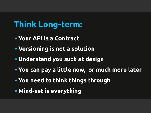 Building your api for longevity malvernweather Images