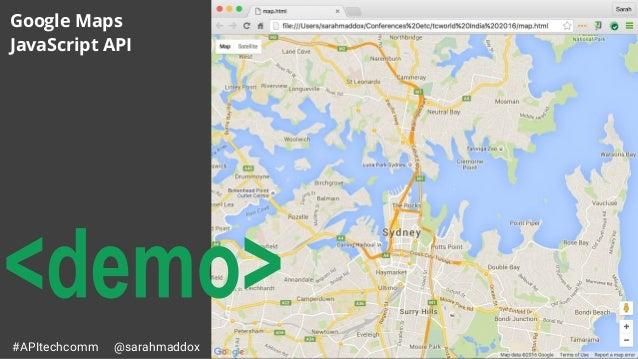 Api technical writing apitechcomm sarahmaddox google maps javascript api gumiabroncs Choice Image