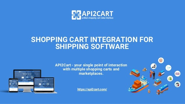Shopping Cart Integration for Shipping Software