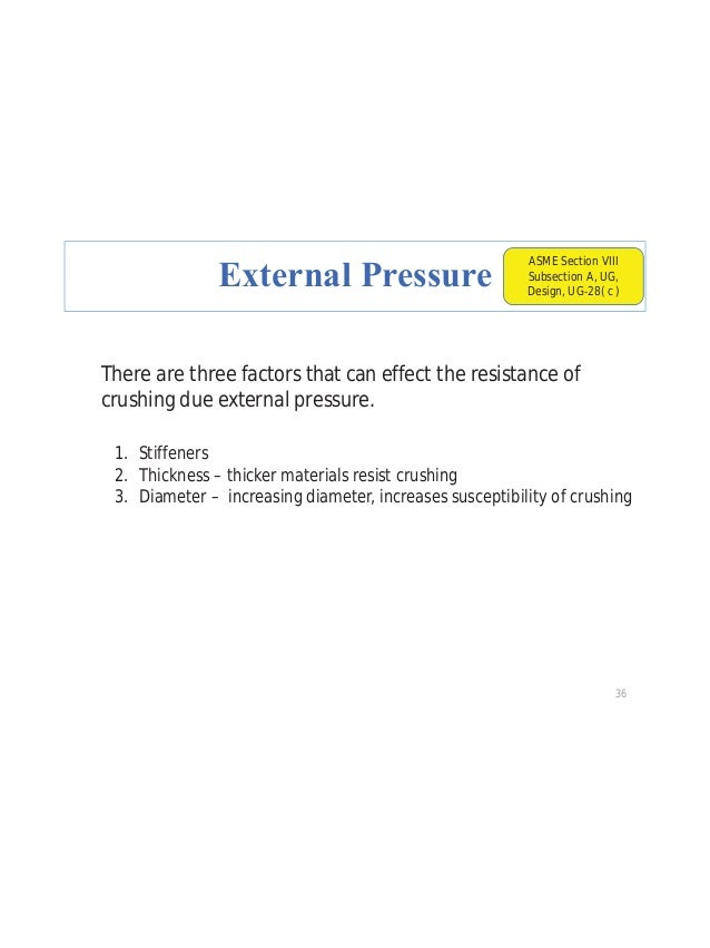 Practice Question # 3 A horizontal vessel constructed from SA 178 Gr A plate. Designed for 200 psig @ 500oF. Wall thicknes...