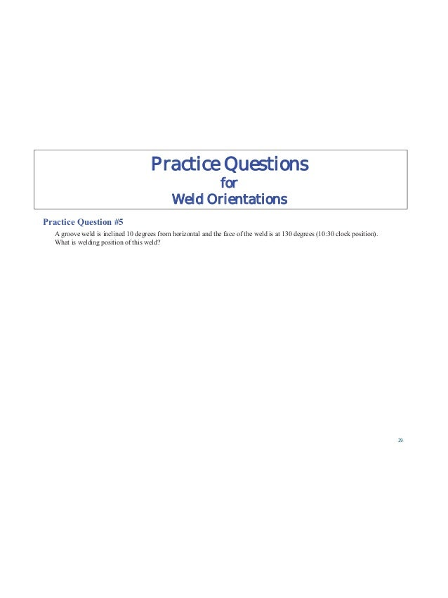 Practice Questions for Welder Qualification Practice Question # 15 RT can be used to qualify a welder, except for the foll...