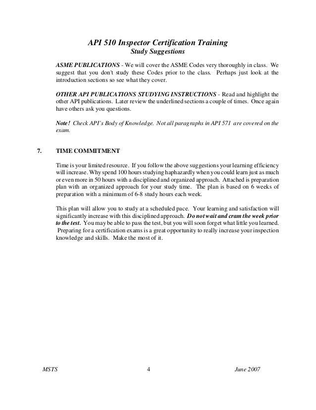 how to get api 510 certification