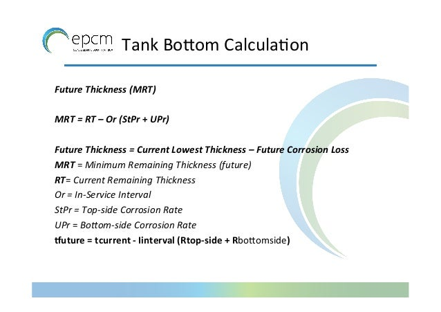 Tank Basics API 650 Fabrication