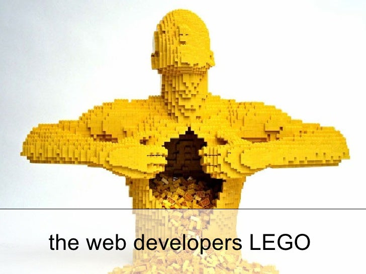 the web developers LEGO
