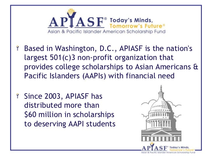 APIASF Asian & Pacific Islander American Scholarship Fund ...