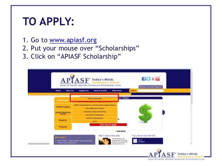 Asian pacific islander scholarship fund