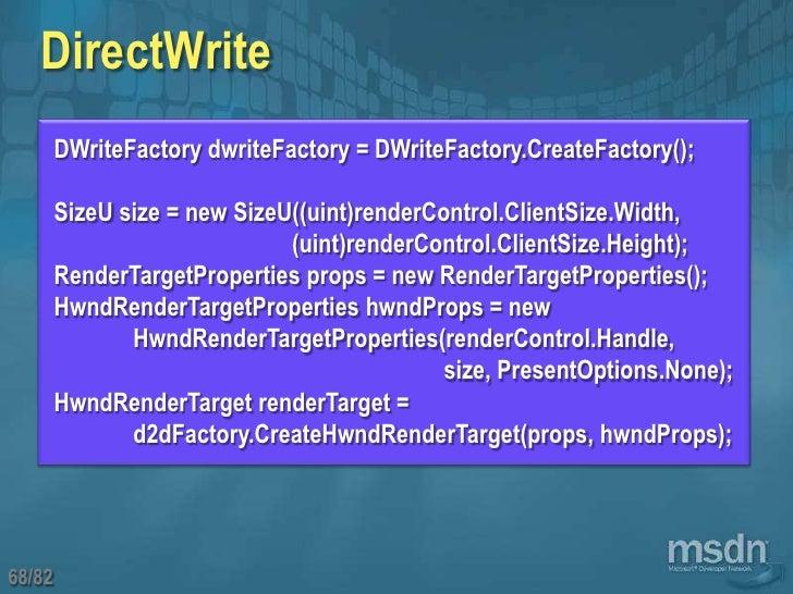 DirectWrite