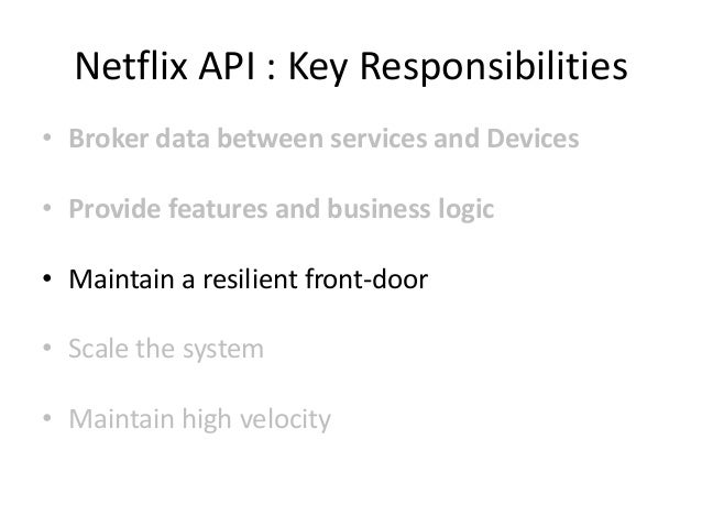 ~600 Dependency jars Slurped into the Netflix API